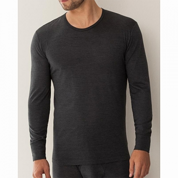 T Shirt Long Wool & Silk Zimmerli (ZIws7108136s)
