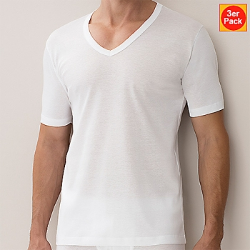 V Shirt  3er Pack Business Class New Zimmerli (ZIbu22214723er)