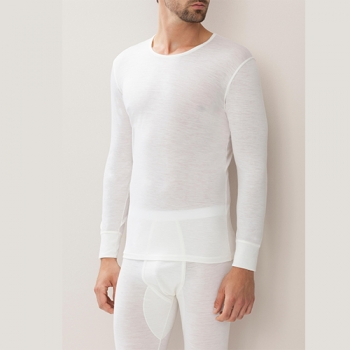 T Shirt Long Wool & Silk Zimmerli (ZIws7101451)