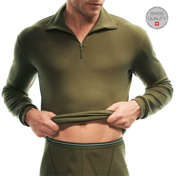 Roll Shirt 1/ Arm mit RV Army ISAbodywear(ISAay1548)
