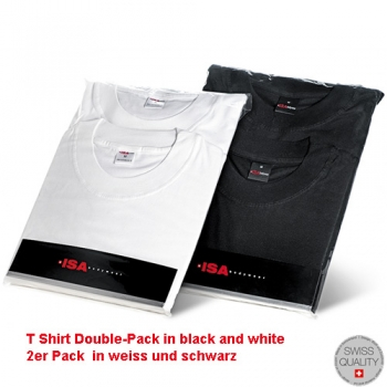 T Shirt 1/4 Arm Doppelpack Shirts ISAbodywear(ISAsh315133)