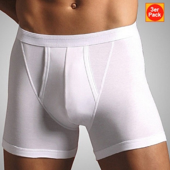 Retro Short mit Eingriff Natural 3er Pack Comfort Novila (NOnc803615)