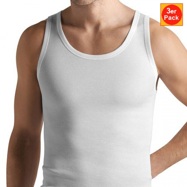 A Shirt Tank Top 3er Pack Cotton Pure Hanro (HAcp36603er)