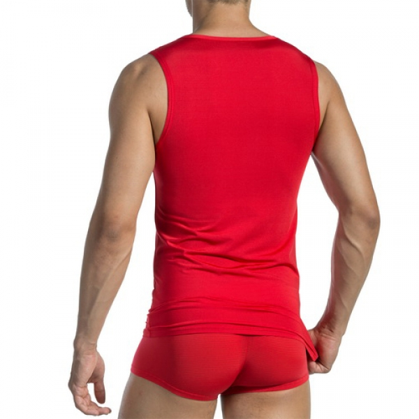 A Shirt Tanktop RED1201 Olaf Benz (OBred105836)
