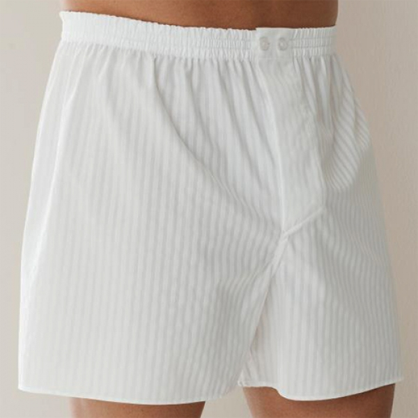 Boxer Short Stripe Woven Day- and Nightwear Zimmerli (ZIwov402075101)